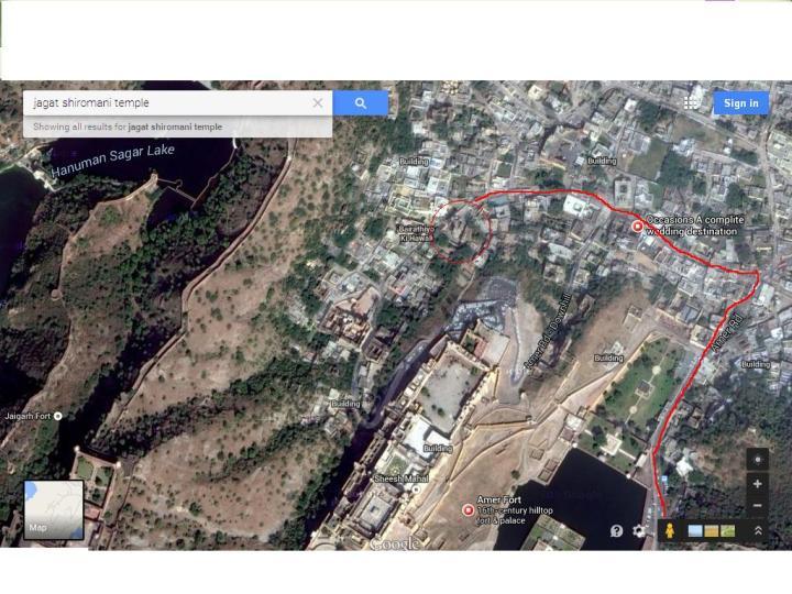 Jagat shiromani location map