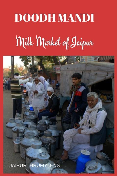 Doodh Mandi Jaipur Milk Market