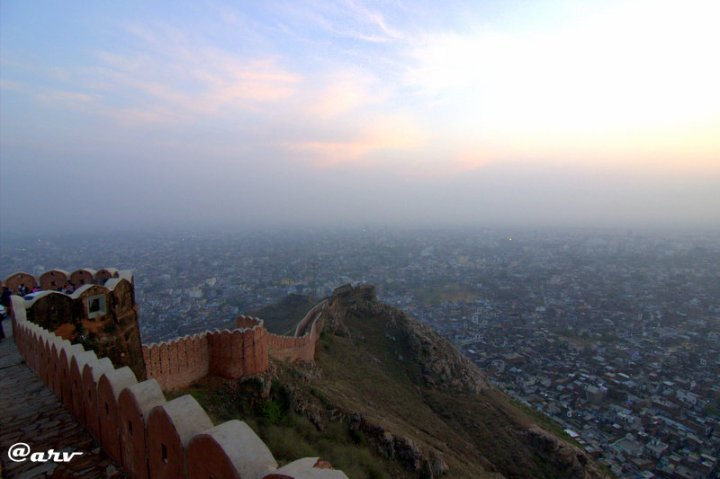 view from nahargarh