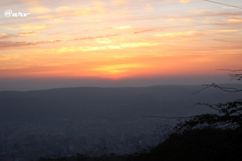 sunrise jaipur