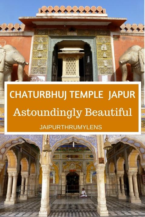 Old Chaturbhuj Temple Jaipur Jaipurthrumylens #chaturbhujtemple #jaipur