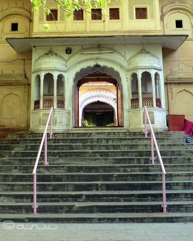 brajnidhi temple jaipur entrance
