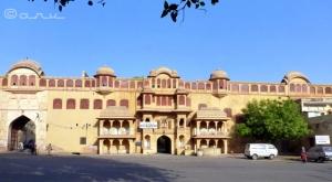 Brijnidhi Temple Jaipur facade