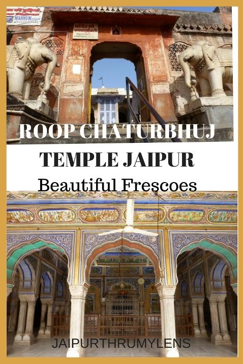 roop chaturbhuj temple jaipur heritage walk jaipurthrumylens #roopchaturbhujtemple #jaipur