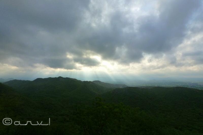 monsoon in jaipur