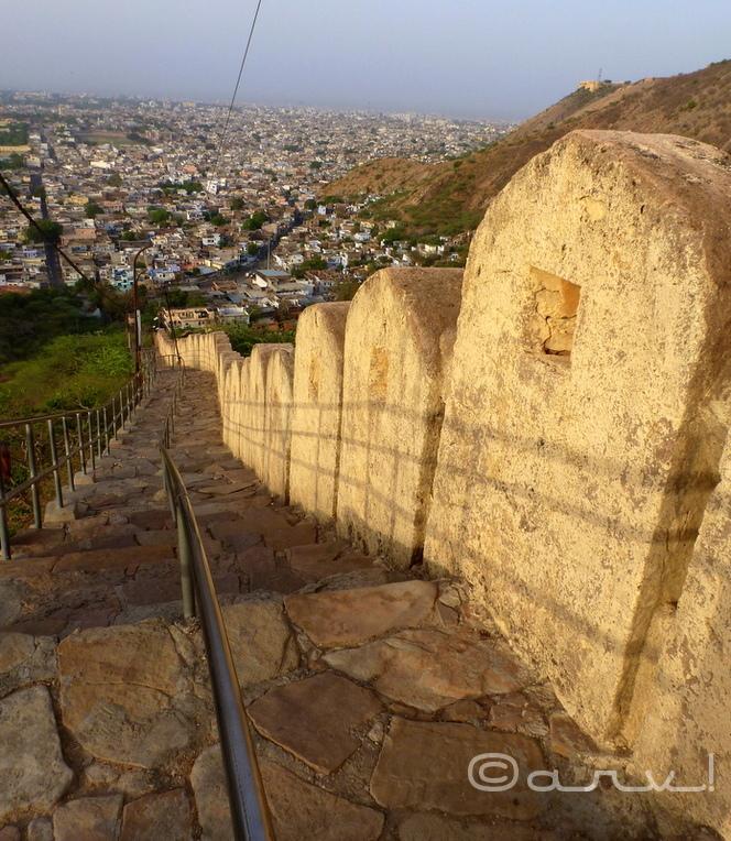 way_to_gad_ganesh_temple_jaipur