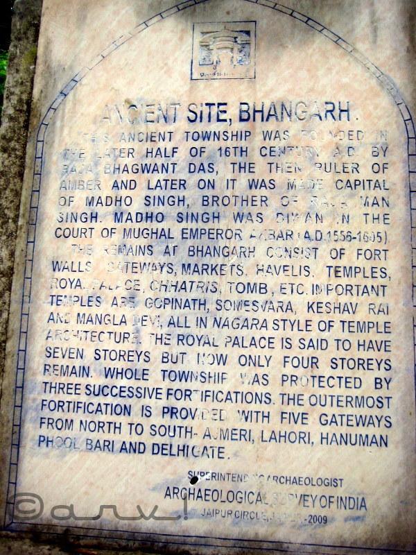 bhangarh-information