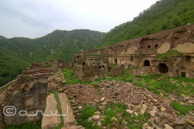 haunted place in india bhangarh