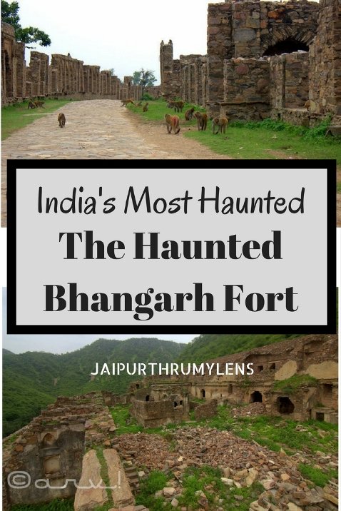 Most haunted place in india. The Haunted Bhangarh Fort