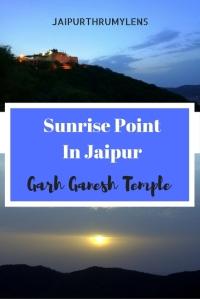 Sunrise Point In Jaipur Garh Ganesh Temple #jaipur #sunrispointinjaipur #sunrisepoint #garhganeshtemple #garhganesh #sunrise