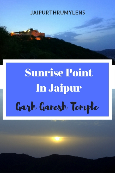 Sunrise Point In Jaipur Garh Ganesh Temple #jaipur #sunrispointinjaipur #sunrisepoint #garhganeshtemple #garhganesh #sunrise