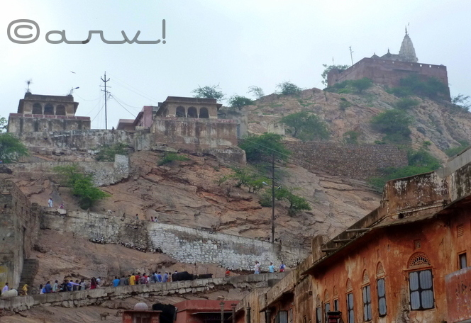 surya mandir jaipur galta hills