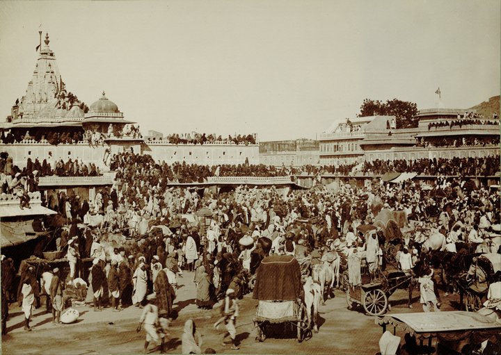 sun-temple-jaipur-festival-preocession-old-photo-vintage-picture