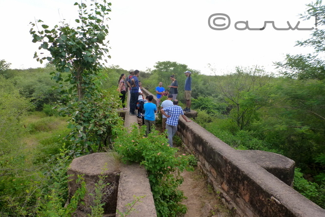 heritage water walk in nahargarh fort jaipur