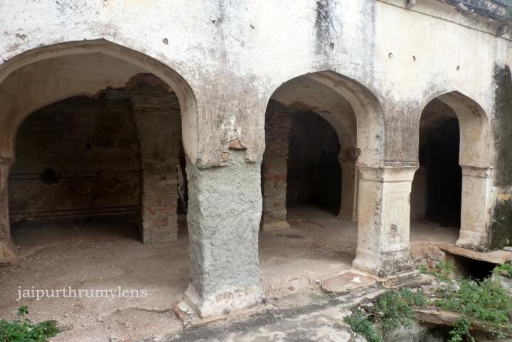 inside achrol fort rajasthan