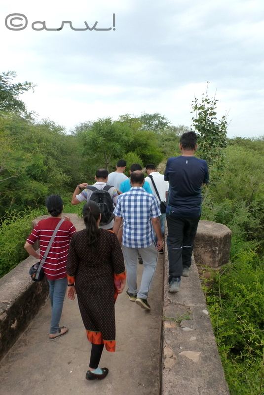 nahargarh fort water walk in jaipur