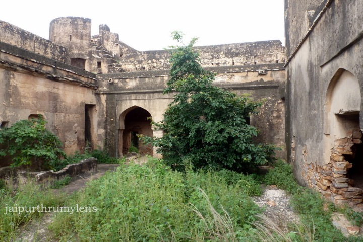 Inside Achrol Fort