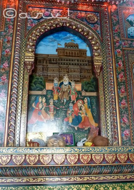 ramayana-scene-pictures-paintings-ramchandra-temple-jaipur