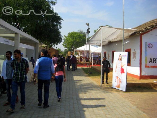 art summit in jaipur at jawahar kala kendra