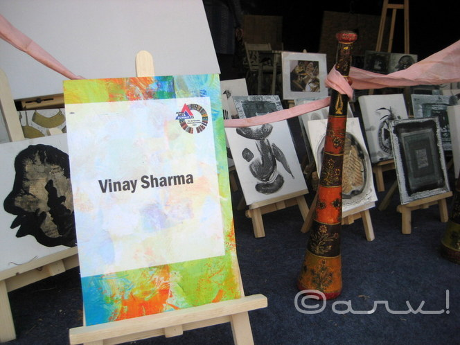 miniature-paintings-by-artist-vinay-sharma-jaipur-art-gallery-jawahar-kala-kendra