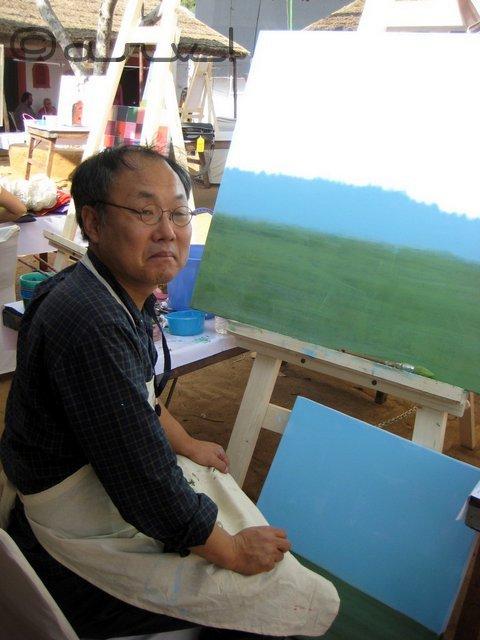 painters-in-jaipur-art-summit-jawahar-kala-kendra