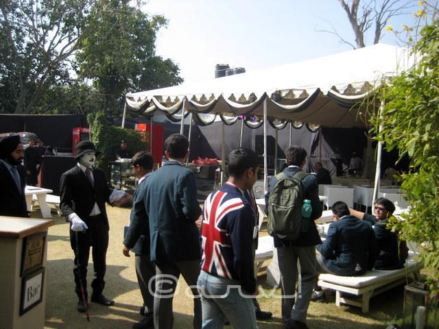 food lounge at jaipur literature festival at diggi palace 2016