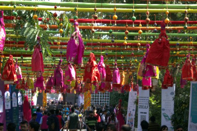 jaipur literature festival at diggi palace in jaipur