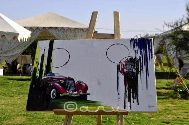 auto-art-painting-exhibition-by-cartist-jaipur-jaipurthrumylens