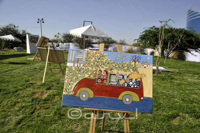 automobile-art-by-cartist-exhibition-in-jaipur-opposite-world-trade-park
