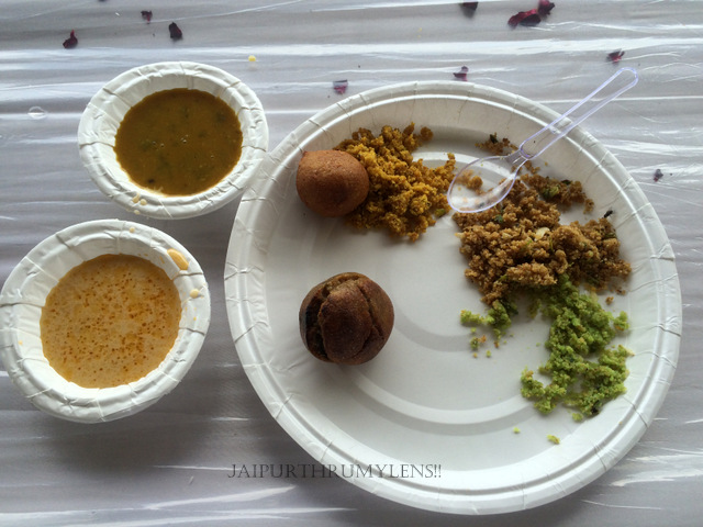 Dal Baati Churma curry rajasthani cuisine in jaipur