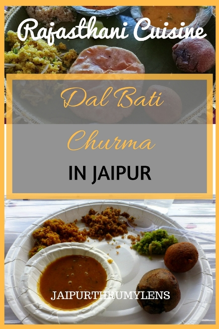 dal-bati-churma-jaipur-authentic-rajasthani-cuisine-indian-food #food #jaipur #cuisine #dalbati #rajasthani #vegetarian #authentic #travel #guide #rajasthan #indian