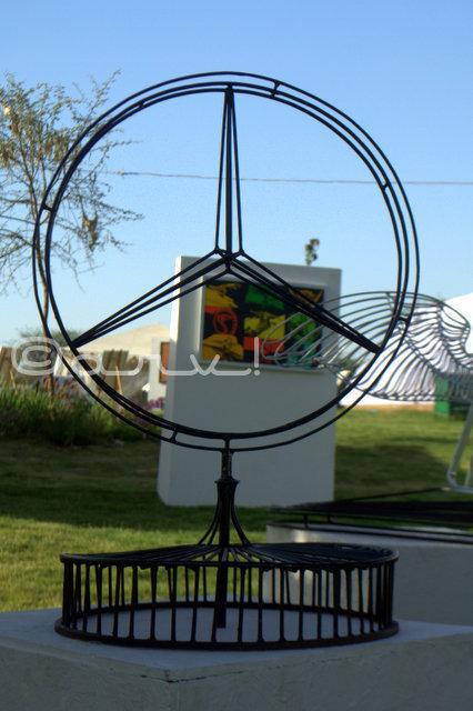 mercedes-benz-logo-at-cartist-jaipur-exhibition-jaipurthrumylens