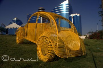 yellow-car-at-cartist-jaipur-exhibition-in-front-of-world-trade-park-jaipurthrumylens