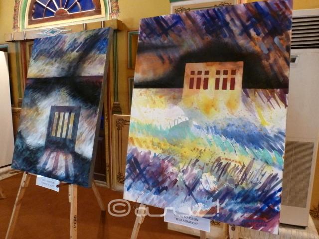 artist-grete-marsttein-carbon-12-exhibition-diggi-palace-jaipur