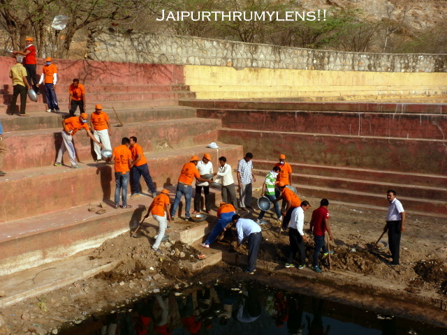 water-conservation-in-jaipur-at-kadam-kund-bawri-with-public-partenership-jmc