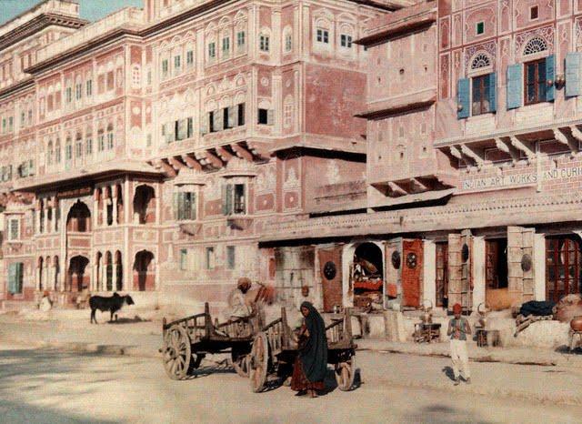 jaipur street 1926