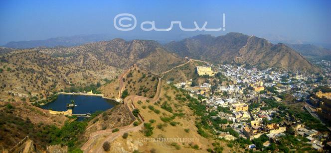 aerial-picture-amber-palace-sagar-jaipur-jaipurthrumylens