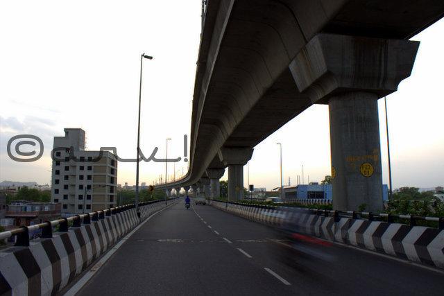 ajmer-road-flyover-metro-line-sodala-motorcycle-jaipurthrumylens