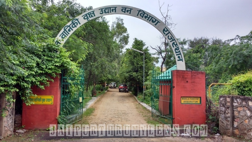 forest-department-world-forestry-arboretum-jaipur-jaipurthrumylens-entrance-gate