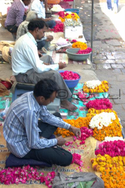 marigold-rose-flower-sellers-badi-chaupar-hawa-mahal-jaipur