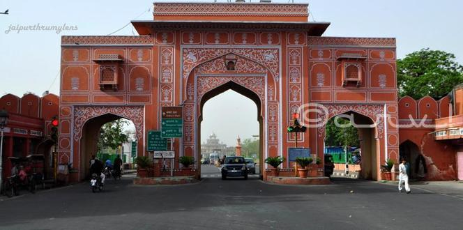 Old City Gates of Jaipur