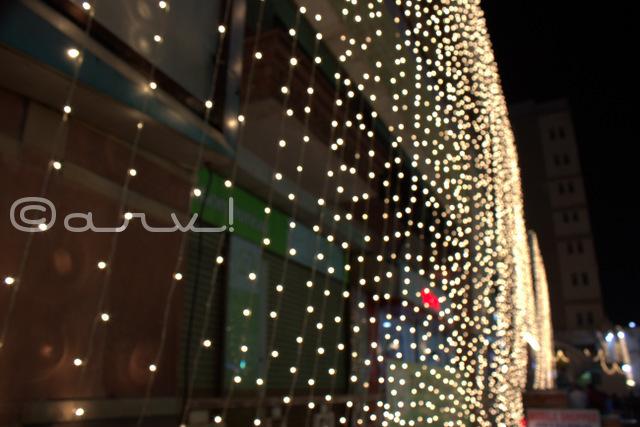 ganpati plaza diwali decoration in diwali