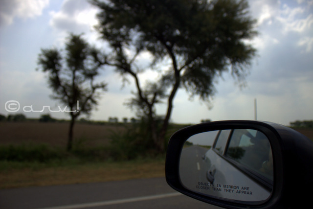 lifes-reflection-in-rear-view-mirror-road-trip-garadia-mahadev-kota