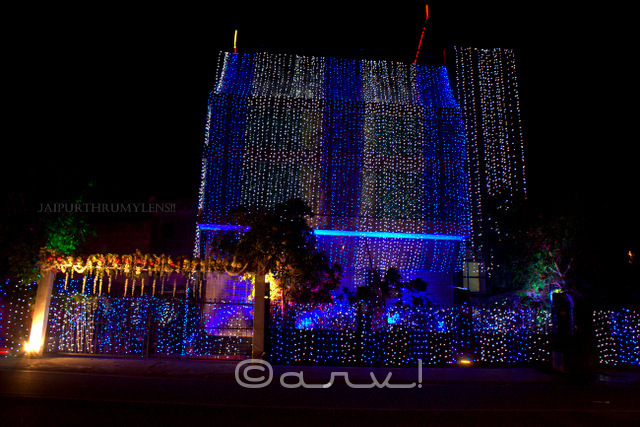 diwali-celebration-in-jaipur-kothari-jewellers-showroom-decoration-rajasthan-india