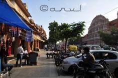 Hawa Mahal market sirehdyodi bazaar jaipur