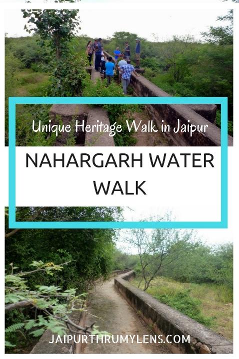 nahargarh heritage water walk jaipur jaipurthrumylens