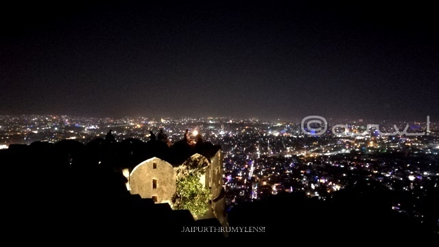places-to-celebrate-diwali-in-jaipur-nahargarh-fort-night-view