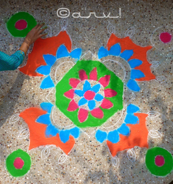 simple-rangoli-design-for-diwali-jaipur-india-jaipurthrumylens