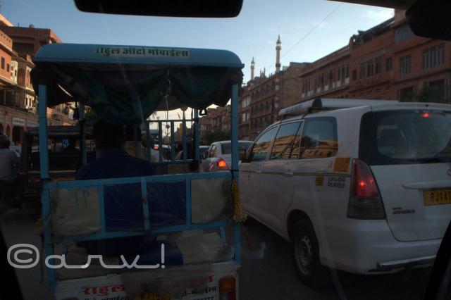 johari bazaar traffic jam