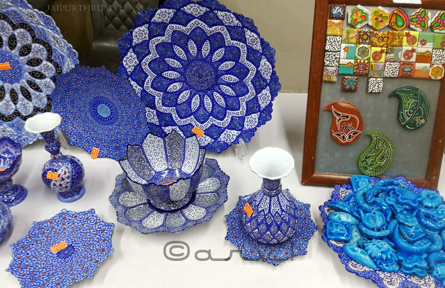 display-of-art-from-iran-at-jaipur-art-summit-jaipurthrumylens